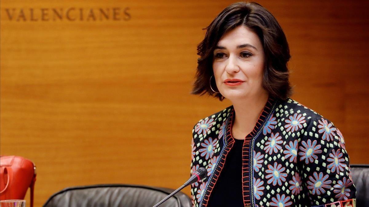 La nueva ministra de Sanidad, Carmen Montón, en una imagen de archivo.