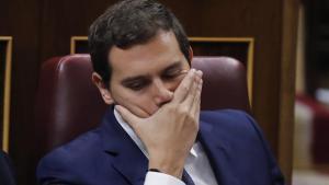 Albert Rivera, en el debate de investidura.