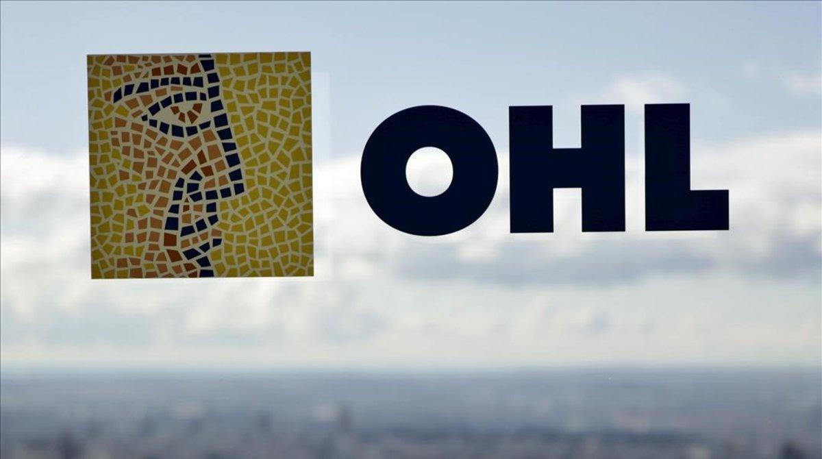 Logo de la empresa OHL.