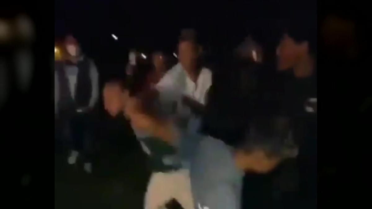 Paliza de un grupo a un joven en un parque de Amorebieta, Vizcaya.
