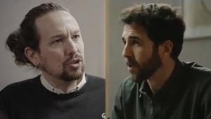 Pablo Iglesias y Gonzo