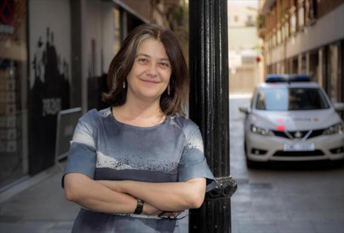 La escritora Rosa Ribas, en Barcelona.