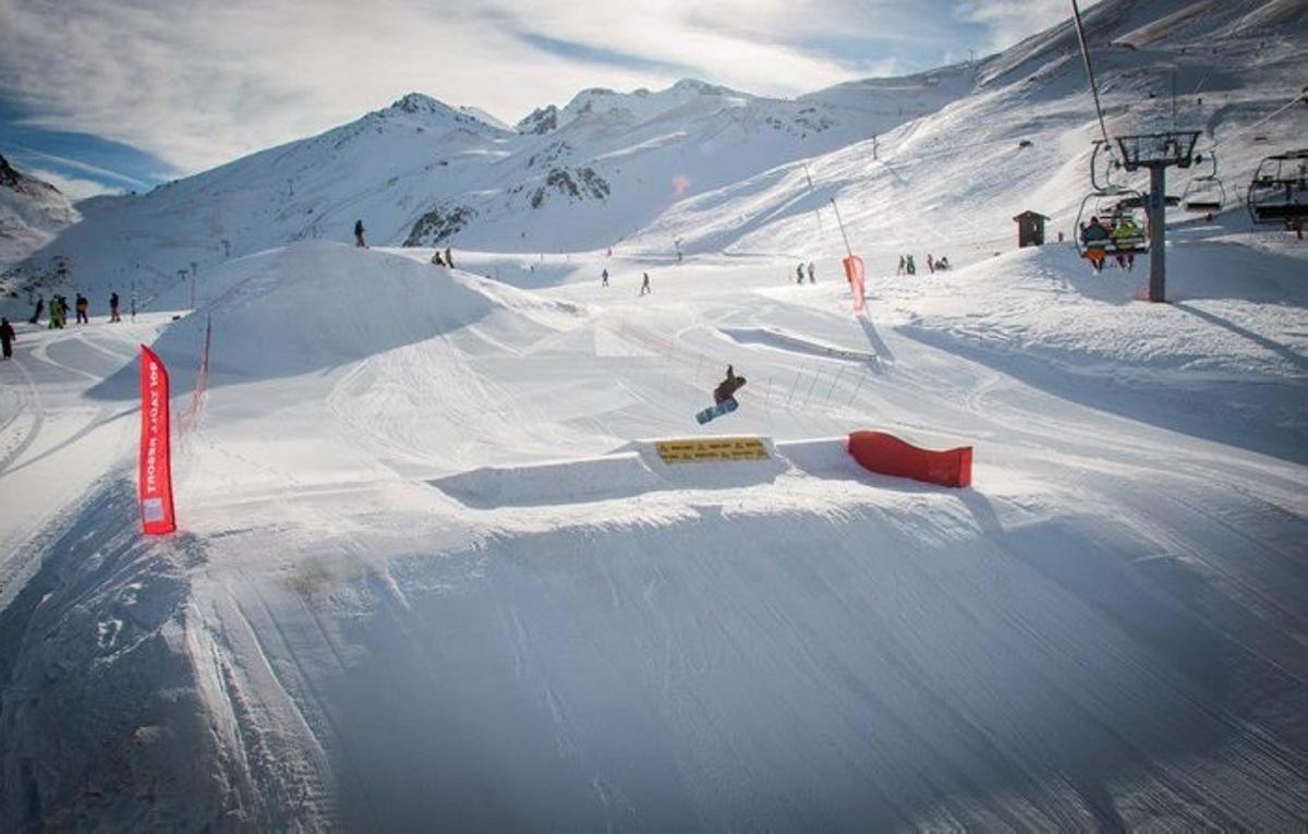 Imagen de archivo de una estación de esquí en la provincia de Lleida