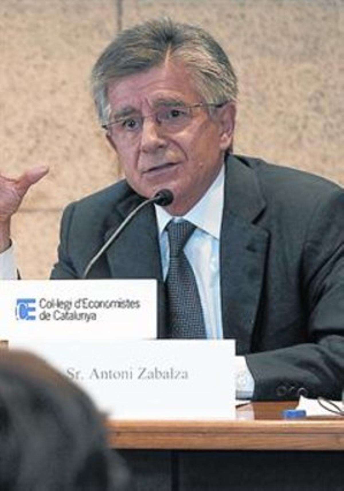 Exsecretario de Hacienda 8 Antoni Zabalza.