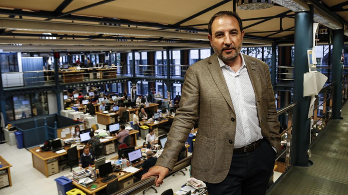 El secretario general de Unió ha visitado El Periódico.