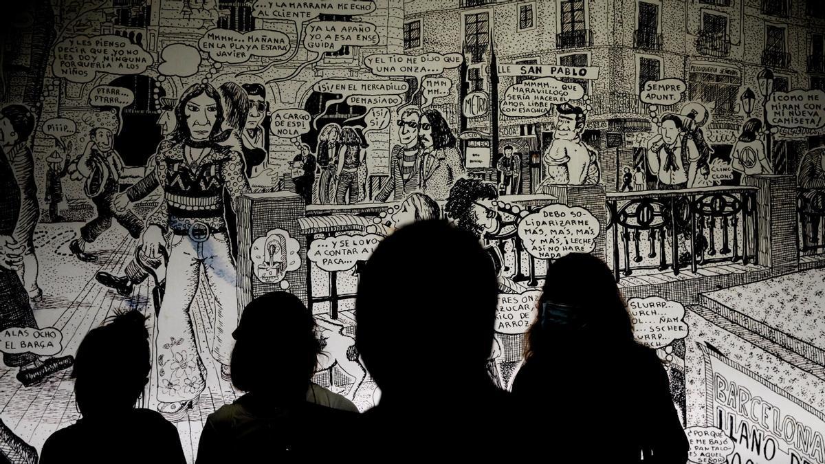 El Palau Robert de Barcelona acoge en una exposición la contracultura y el Underground de la Cataluña de los 70.