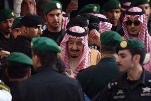 El rey de Arabia Saudí,Salman bin Abdulaziz.
