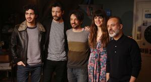 Imágenes del rodaje de 'Mirage', la nueva película de Oriol Paulo, con Adriana Ugarte, Javier Gutiérrez, Chino Darin y Álvaro Morte