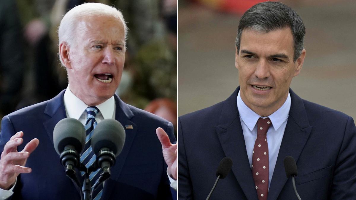 Sánchez i Biden es veuran dilluns a Brussel·les