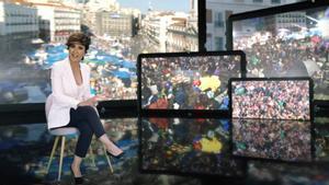 Sonsoles Ónega compagina la televisión con la literatura.