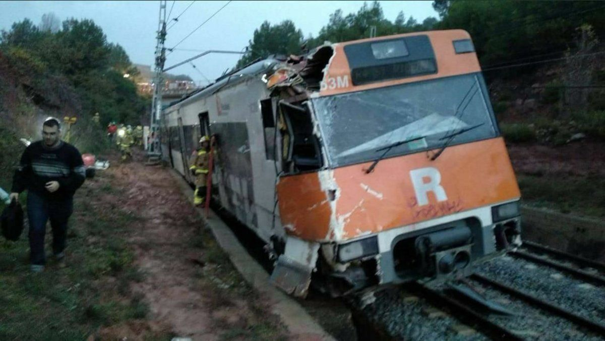 Descarrila un tren que feia la línia Madrid-Safra sense causar ferits