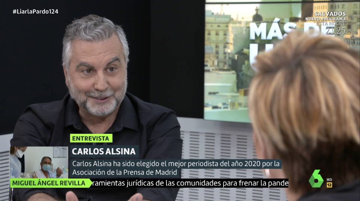 Carlos Alsina se moja y da el nombre de los políticos (de diferentes partidos) que le tienen vetado