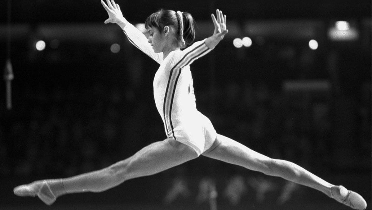 Nadia Comaneci, en Montreal 76