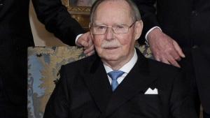El Gran Duque Juan de Luxemburgo, en el 2011.