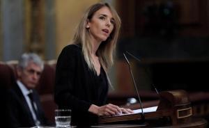 Cayetana Álvarez de Toledo, en el Congreso.
