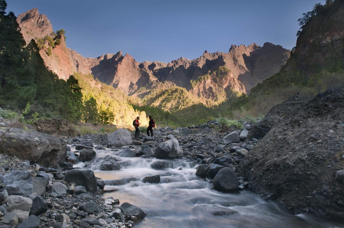 Parque Natural de la Caldera de Taburiente.
