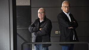 Antoni Trilla (izquierda) y Bonaventura Clotet.