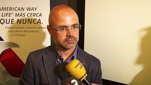 El director regional de ventas d'American Airlines para España y Portugal, José A. Blázquez.