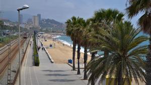 Playa de Badalona.