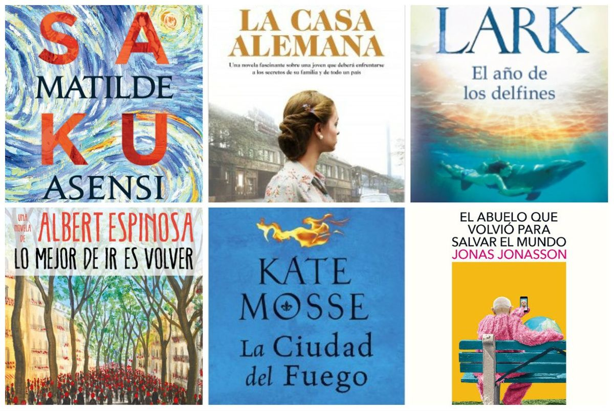 'Best-seller': 12 libros recomendados para Sant Jordi 2019