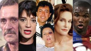 Antes que Rocío Carrasco, otras figuras públicas abrieron un debate en la sociedad con sus confesiones: desde Rock Hudson, Asia Argento, Carmina Ordóñez, Caitlyn Jenner o Eto'o.