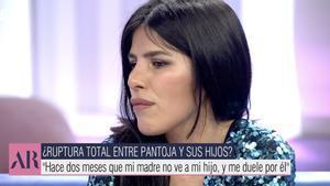 Isa Pantoja, destrossada a 'El programa de Ana Rosa': «El meu fill no ha vist la seva àvia aquest Nadal»
