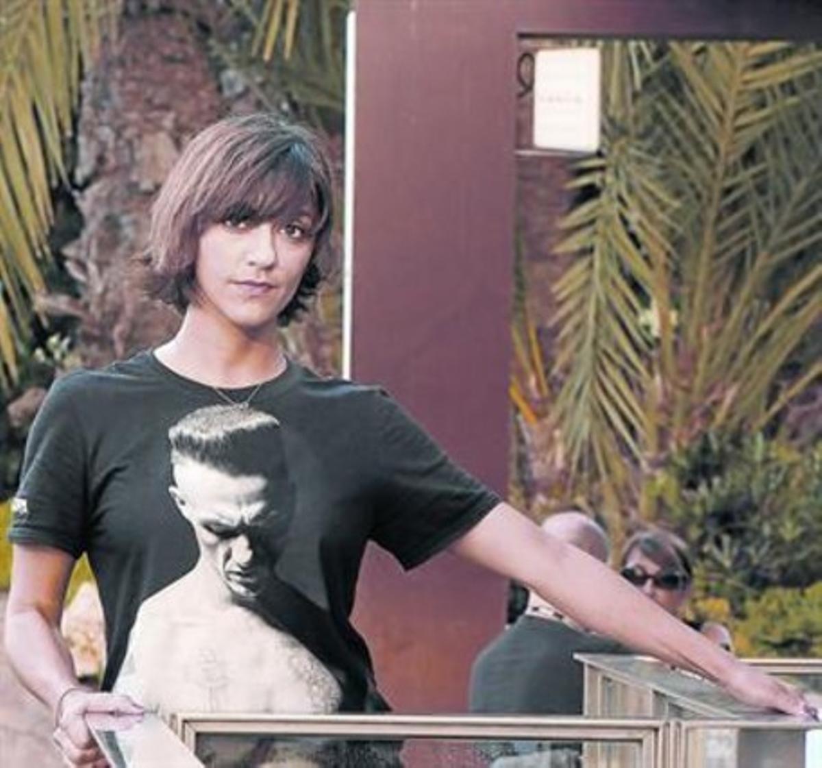 La directora de origeniraní Ana Lily Amirpour,ayer en Sitges.