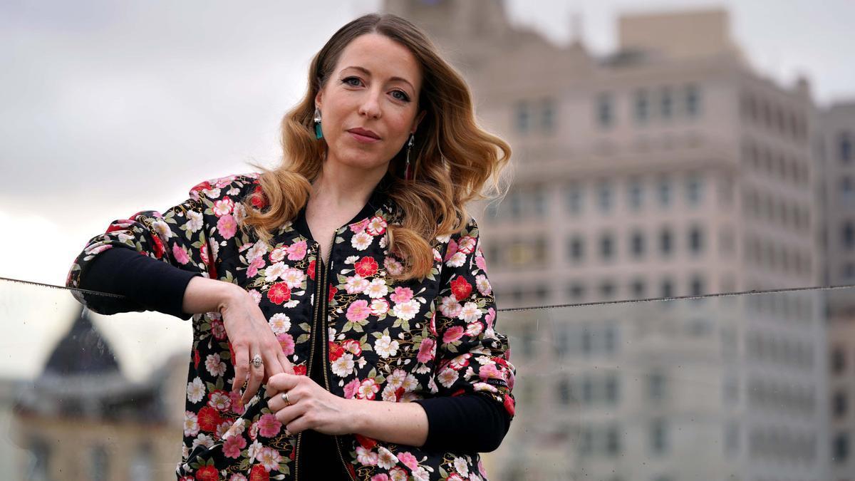 Pilar Palomero, fotografiada esta semana en Madrid.