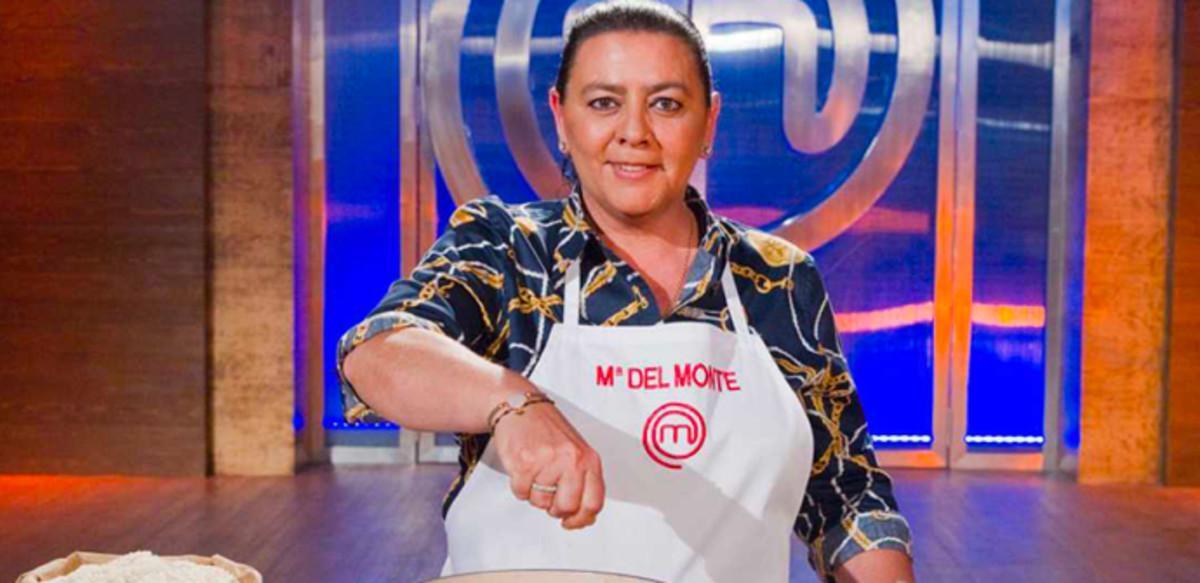 María del Monte, en la cocina de 'Masterchef celebrity'.