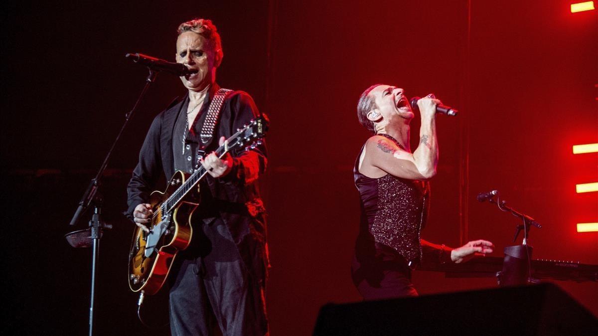 Depeche Mode volverá al Sant Jordi el 7 de diciembre.