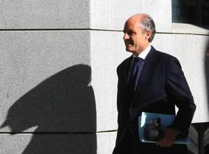 Francisco Camps llega a la Audiencia Nacional, ayer.