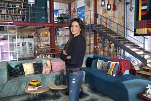 Nuria Roca, en el plató de 'Singles XD'.