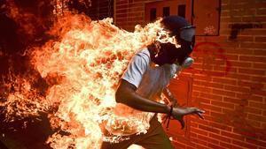 Imagen premiada del fotoperiodista venezolanoRonaldo Schemidt.