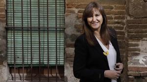 Borràs no hará ronda de consultas hasta asegurarse que Aragonès tiene apoyos para la investidura.