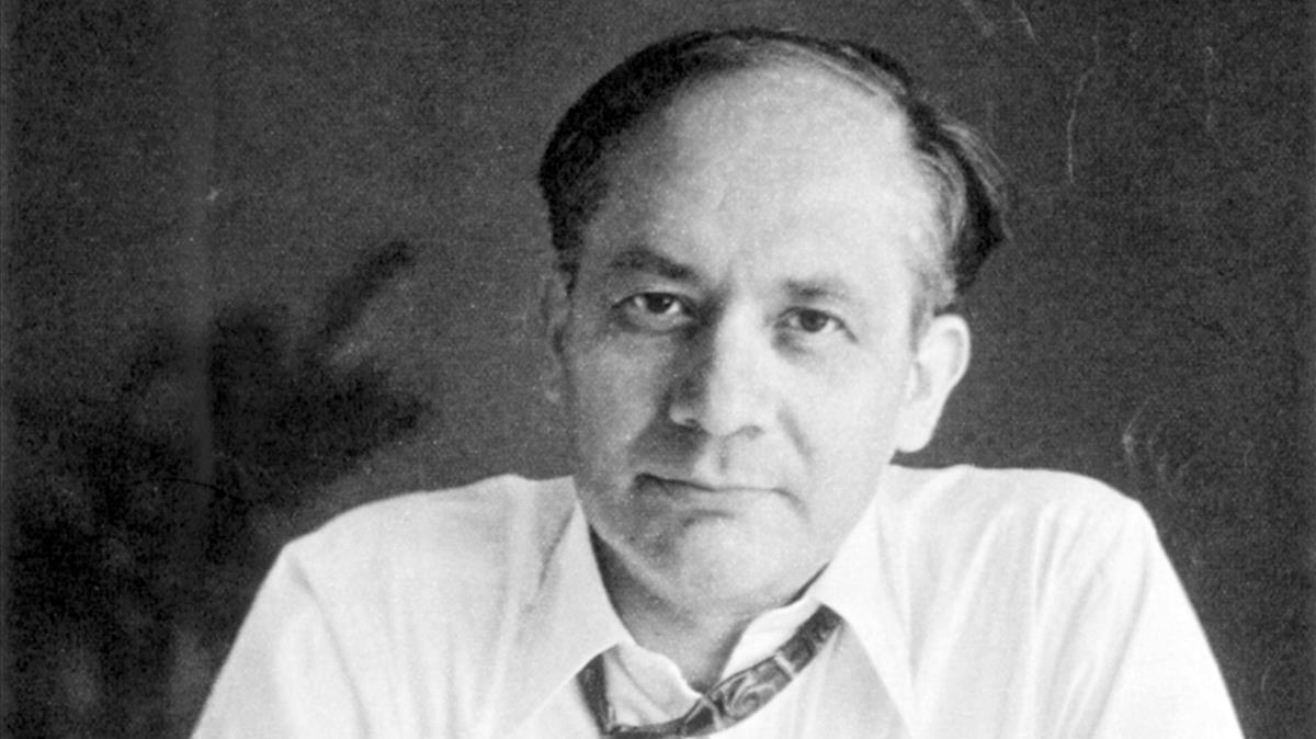 El abogado Rafael Lemkin, en 1944, en una imagen del libro de Philippe Sands, Calle Este-Oeste.