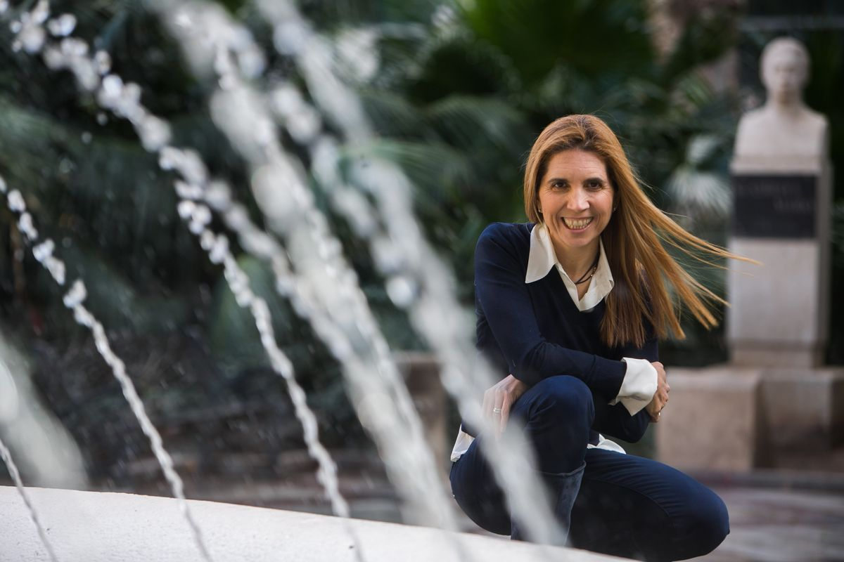La ingeniera alicantina Nuria Oliver