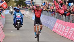 Giro 2021: Caruso s'exhibeix, Bernal sentencia