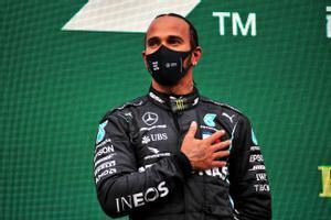 Lewis Hamilton, en un GP del pasado año.