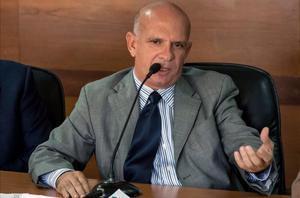 El exgeneral venezolano Hugo Carvajal, antiguo exjefe de contrainteligencia militar de su país con Hugo Chávez.