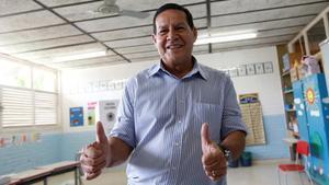 Hamilton Mourao, el próximo vicepresidente.