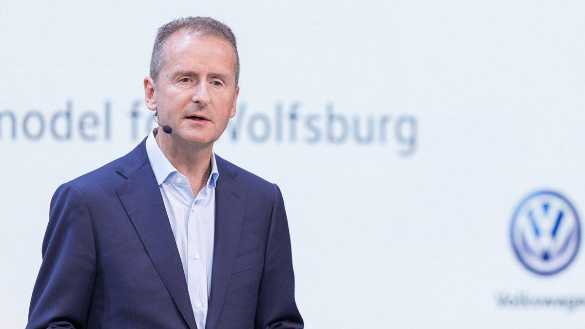 Herbert Diess, CEO del Grupo Volkswagen
