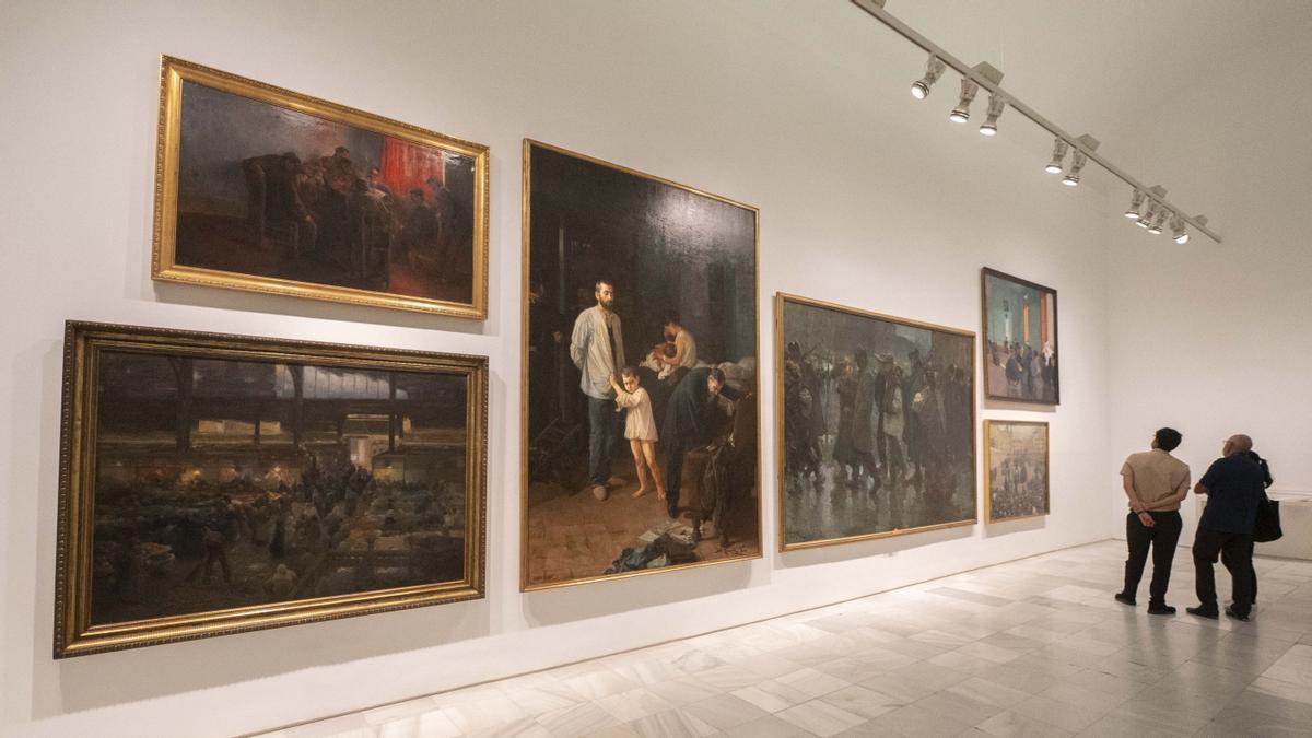 Una de las nuevas salas del Reina Sofía dedicadas al nacimiento de las vanguardias en España.