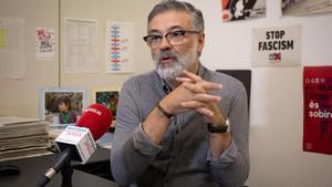 Carles Riera (CUP): David Fernández podría ser muy buen candidato a las catalanas.