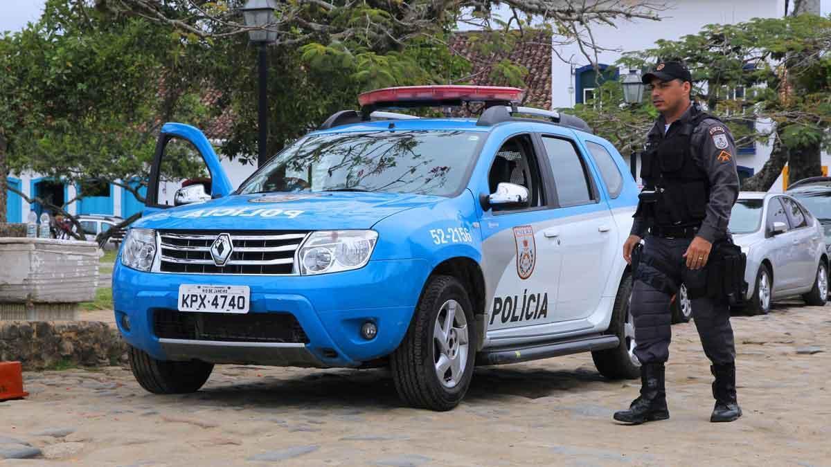 Un policía brasileño.