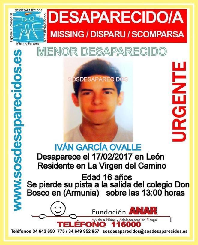 El joven que desapareció el viernes en León, y cuyo cadáver ha aparecido este domingo.