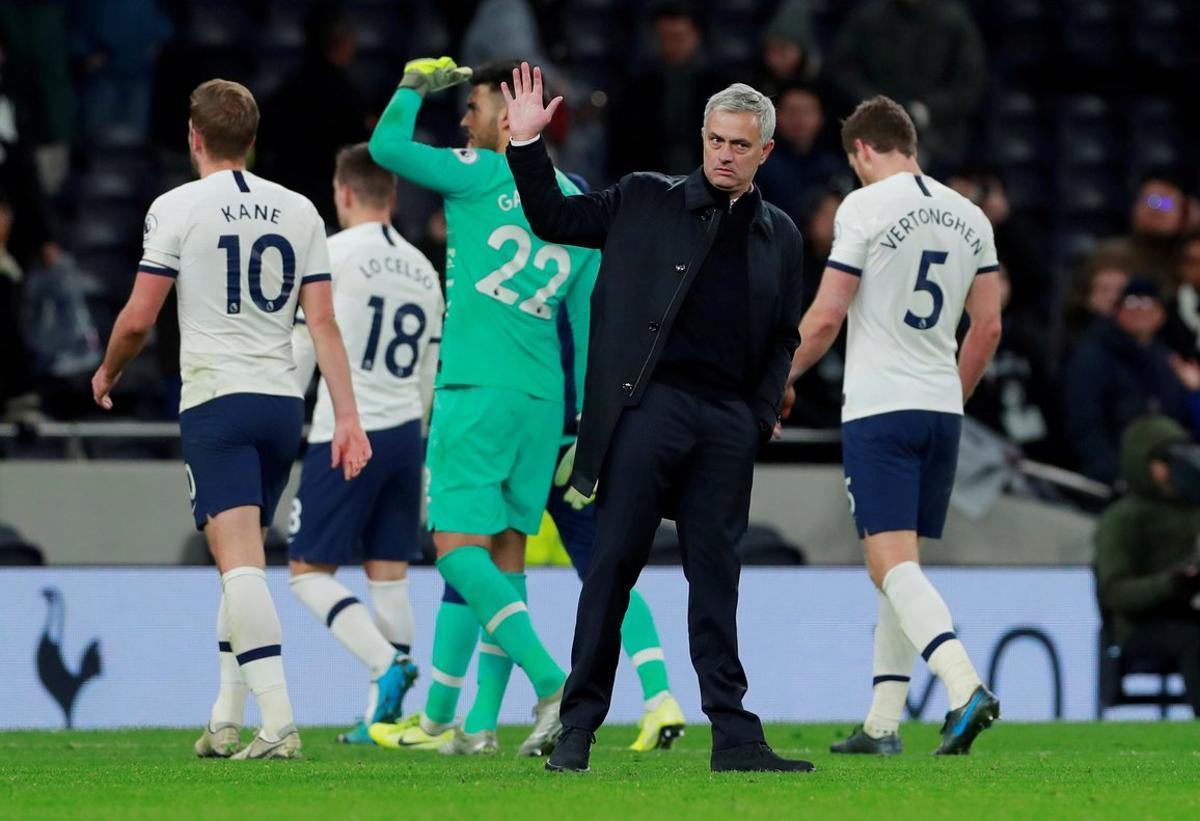 José Mourinho, en la última jornada de Liga.