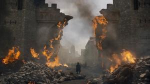 Un fotograma del episodio quinto de la octava temporada de 'Juego de tronos'