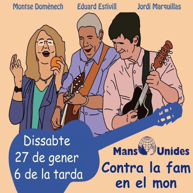 Cartell del concertde Falsterbo aMataró.