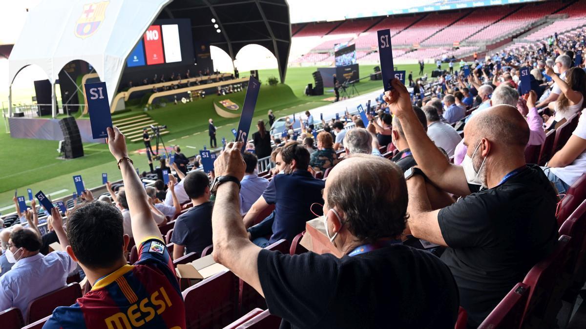 Asamblea de compromisarios del FC Barcelona