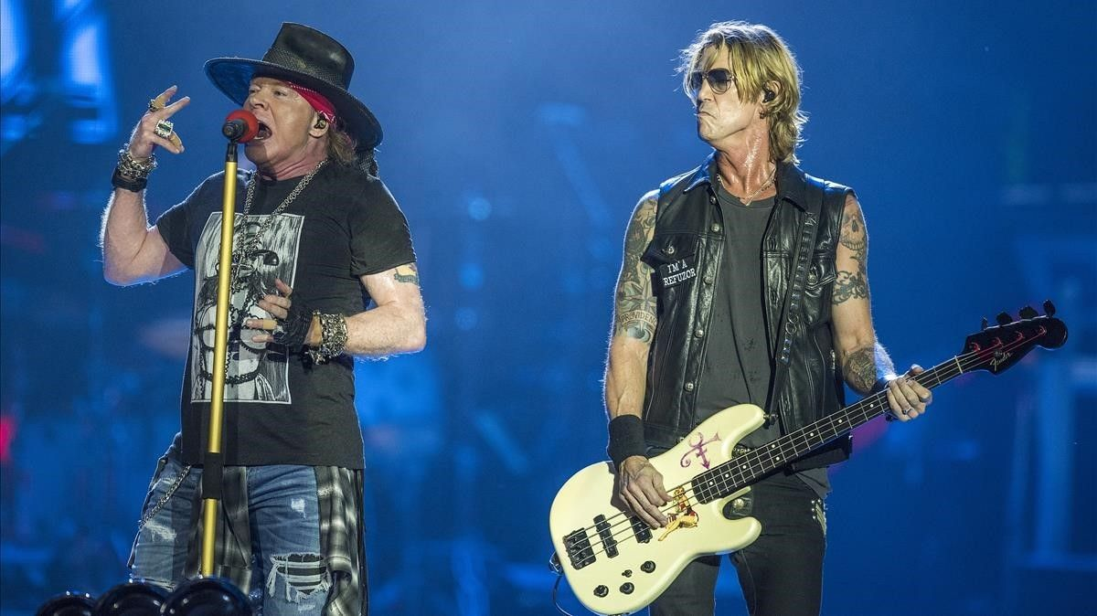 Guns N' Rosesen el Estadi Olimpic.